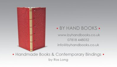 By Hand Books - hand made books by Ros Long