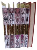 Altered Book by Ros Long - Out of Africa